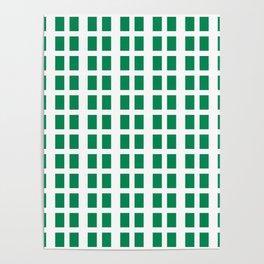 Flag of nigeria -nigeria, nigerian,africa,hausa,igbo,Yoruba,Naira,Lagos,Kano Poster