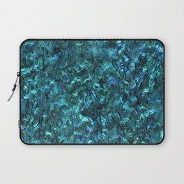 Abalone Shell | Paua Shell | Cyan Blue Tint Laptop Sleeve