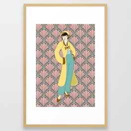 Flapper ready for the new Roaring Twenties! (8) Framed Art Print