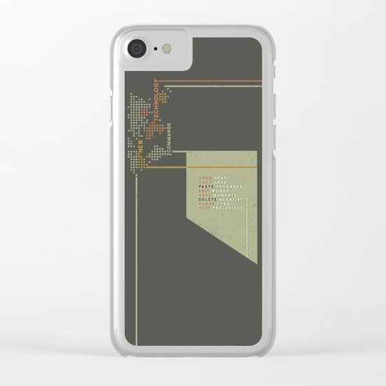 New Technology Commands Clear iPhone Case