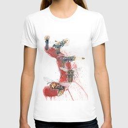 GUN SHOT ONE SHOT T-shirt