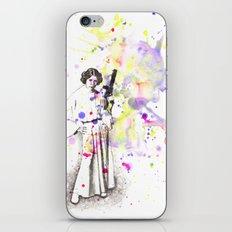 Princess Leia From Star Wars iPhone & iPod Skin
