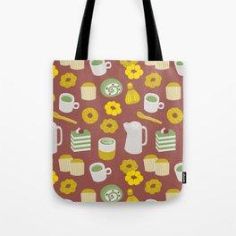 Matcha set Tote Bag