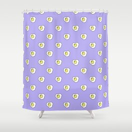 Pattern eggs Shower Curtain