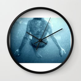 Woosh (Dark) Wall Clock