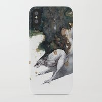 runner iPhone & iPod Cases featuring Night Runner by Rubis Firenos