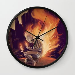 Pyrophobia Wall Clock