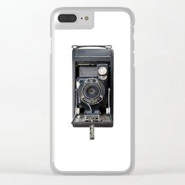 Vintage Autographic Kodak Jr. Camera Clear iPhone Case