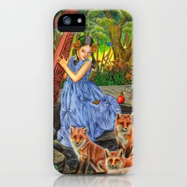 Marigold Sonata iPhone Case
