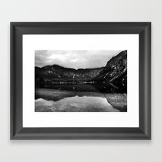 Lake Bohinj, Bled, Slovenia. Framed Art Print