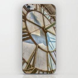 Vintage Clock Tower iPhone Skin