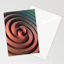 Spiraling One Stationery Cards