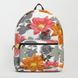 flowers and shadows Backpack