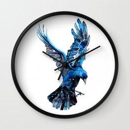 Azure Jack Wall Clock
