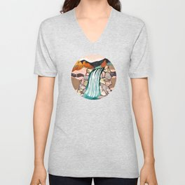 Autumn Falls Unisex V-Neck