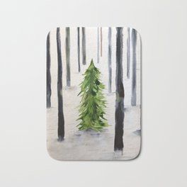 fir-tree Bath Mat