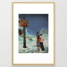 Moonwalk Framed Art Print