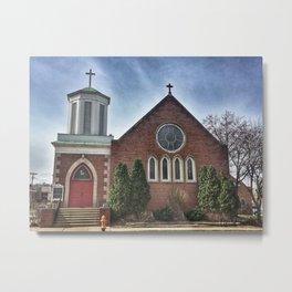 Christ Church in Moline, Illinois Metal Print