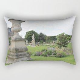 Paris Park Near Louvre Rectangular Pillow