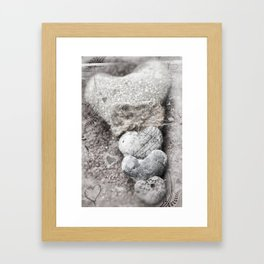 Heart Matters Framed Art Print
