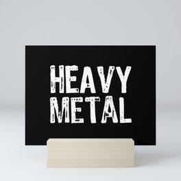 Heavy Metal Mini Art Print
