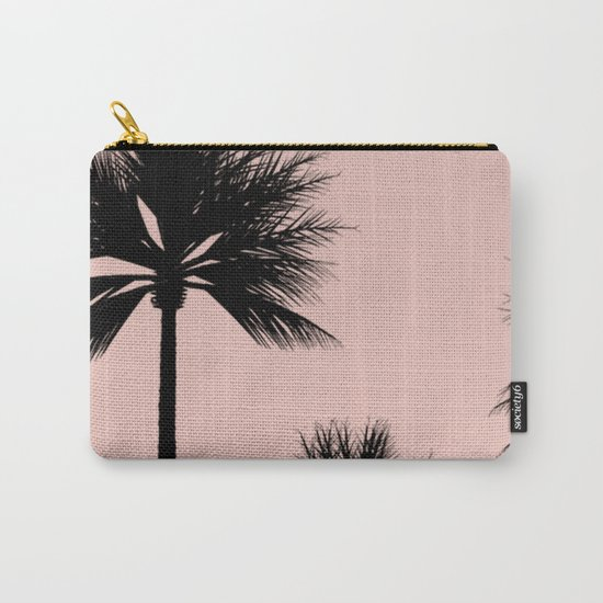 Midnight Palm Carry-All Pouch