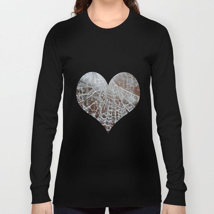 Snowed up Web  Long Sleeve T-shirt