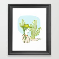 Westward Ho! Framed Art Print