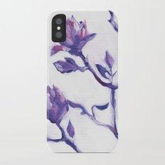 Spring Blooms Slim Case iPhone X