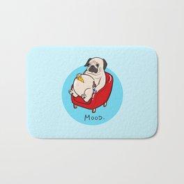 Pug Mood Bath Mat