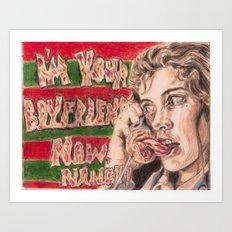 Nancy's Nightmare Art Print