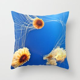 """""""One's Company, Two's a Crowd, and Three's a Party."""" Throw Pillow"""