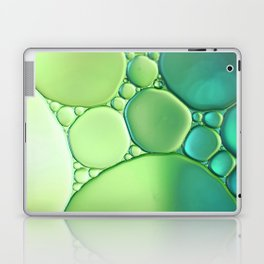 Jade Ombre Bubbles Laptop & iPad Skin