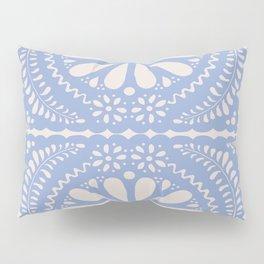 Fiesta de Flores Serenity Blue Pillow Sham
