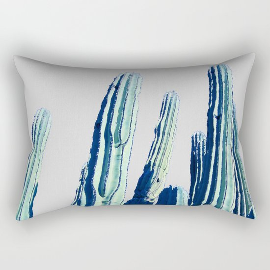 Cactus #society6 Decor #fashion #lifetsyle Rectangular Pillow