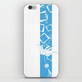 Origami Crane iPhone Skin