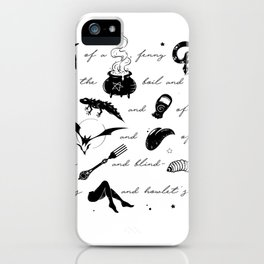Macbeth Witches Chant iPhone Case