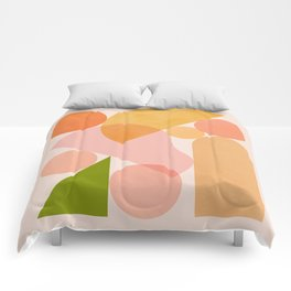 Abstraction_SHAPES_COLOR_Minimalism_002 Comforters