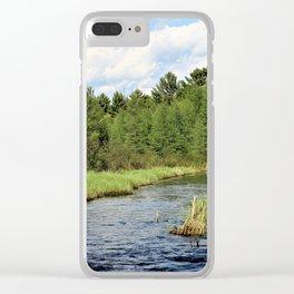 Sawyer / Jessie Clear iPhone Case