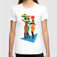 african T-shirts featuring African Women by Szoki
