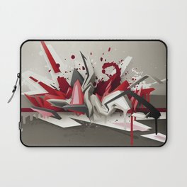 Red Metal Laptop Sleeve