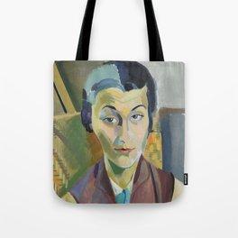 """Robert Delaunay """"Portrait of Maria Lani"""" Tote Bag"""