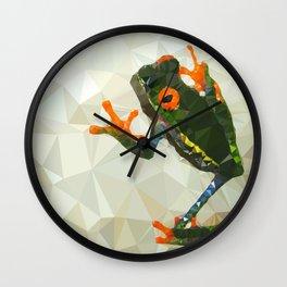 Treefrog Wall Clock