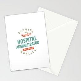 Hospital Administrator Stationery Cards