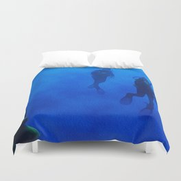 The Dive Duvet Cover