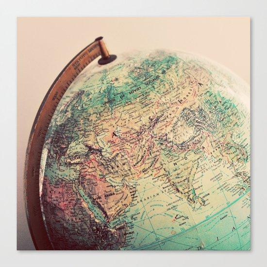 Global Canvas Print
