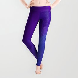 Purple Galaxy Leggings