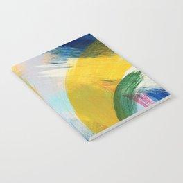 Feathery Swirl Notebook