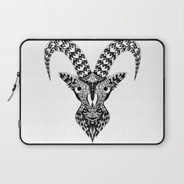 Black Goat Laptop Sleeve