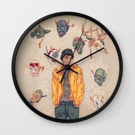 Sylartichot, version no.2 Wall Clock